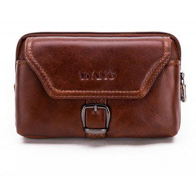 Retro Leather Cellphone Waist Bag