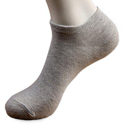 5 Paired Deodorant Business Ankle Socks for Men