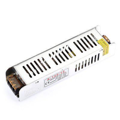 Lighting Transformer 12V 10ALED Accessories<br>Lighting Transformer 12V 10A<br><br>Package Contents: 1 x Lighting Transformer<br>Package size (L x W x H): 20.00 x 6.00 x 5.00 cm / 7.87 x 2.36 x 1.97 inches<br>Package weight: 0.2550 kg<br>Primary Voltage: 100 - 120V,200 – 240V<br>Product size (L x W x H): 19.00 x 4.50 x 3.50 cm / 7.48 x 1.77 x 1.38 inches<br>Product weight: 0.2340 kg<br>Secondary Voltage: 12V