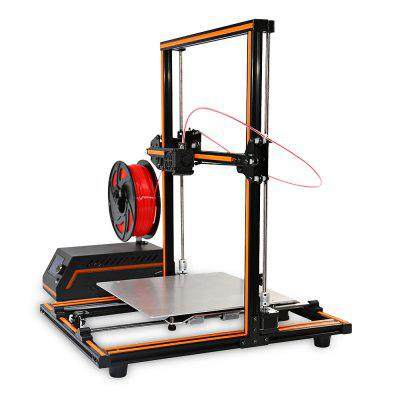 Anet E12 Large Size 300 x 300 x 400 3D Printer DIY Kit new anet e10 e12 3d printer diy kit aluminum frame multi language large printing size high precision reprap i3 with filament