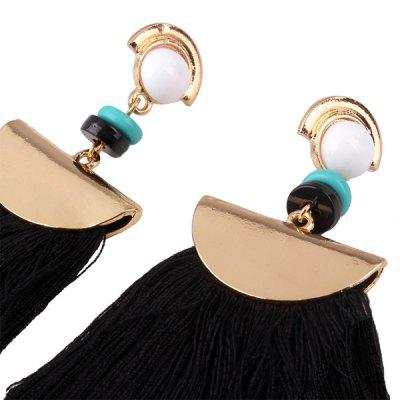 Women Personality Tassel EaringsEarrings<br>Women Personality Tassel Earings<br><br>Occasions: Casual, Party<br>Package Contents: 1 x Pair of Earrings<br>Package size (L x W x H): 9.00 x 4.00 x 2.00 cm / 3.54 x 1.57 x 0.79 inches<br>Package weight: 0.0300 kg<br>Product size (L x W x H): 8.00 x 3.00 x 1.00 cm / 3.15 x 1.18 x 0.39 inches<br>Product weight: 0.0170 kg<br>Style: Modern
