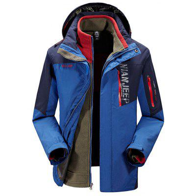 NIAN JEEP Outdoor Jacket with Warm Liner