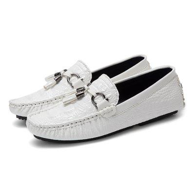 Masculino Trendy Soft Driving Leisure Flat Loafer