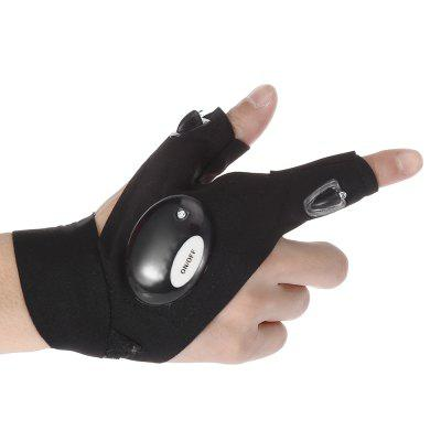 Finger Gloves LED Flashlights for Outdoor Sports
