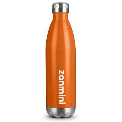 Zanmini Vacuum Thermos Bottle 750ml Orange