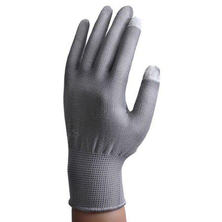 Pair of Touch-screen Gloves with Anti-slip Nylon Fiber Material