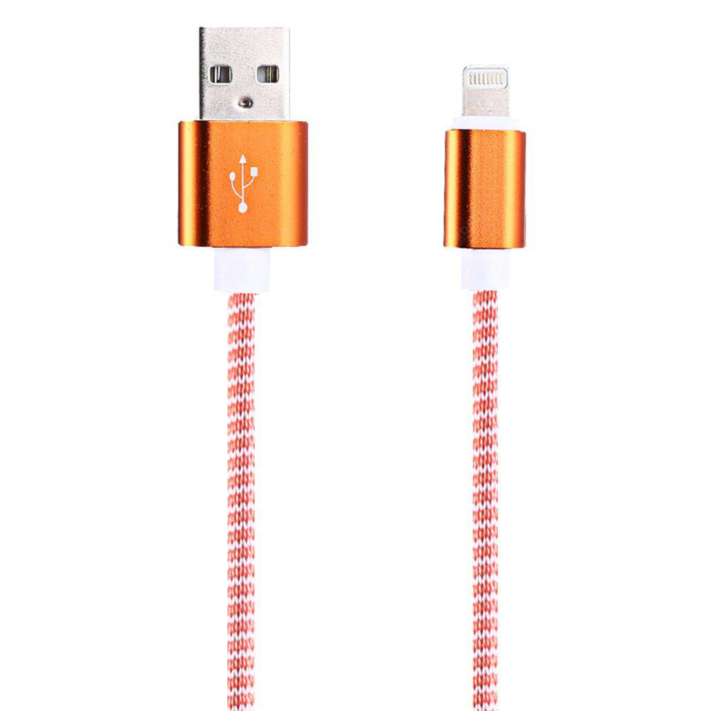 Cable USB de Trenzado de Nylon 1 m 8 Pines