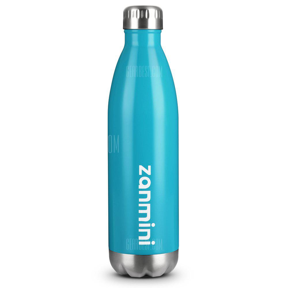 zanmini Stainless Steel Cola Vacuum Insulated Water Bottle 750ML