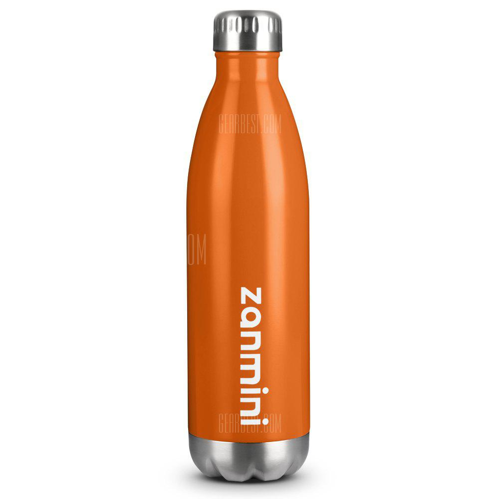 Zanmini Stainless Steel Cola Vacuum Insulated Water Bottle