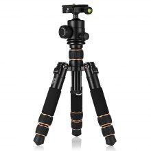 QZSD Q166A Photography Tripod Mini Bracket with Pan Tilt