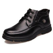MUHUISEN Male Business Soft Casual Leather Shoes