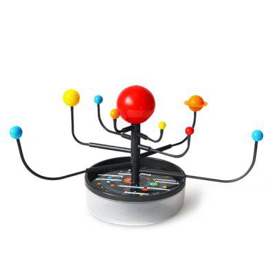 DIY Educational Toy Solar System Nine Planetary Model