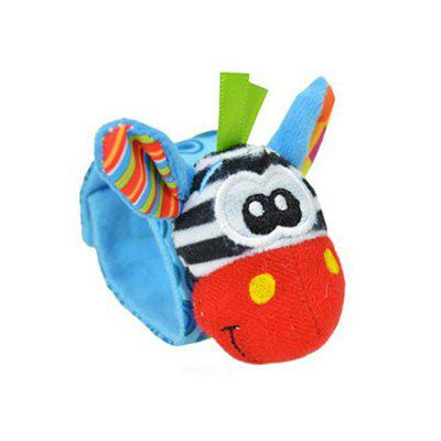 Creative Baby Animal Toy Sock with Wristband