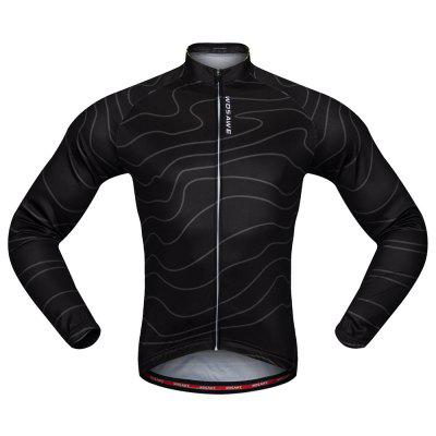 Buy BLACK S WOSAWE BC234 Cycling Jacket Elastic Breathable Jersey Tops for $20.99 in GearBest store