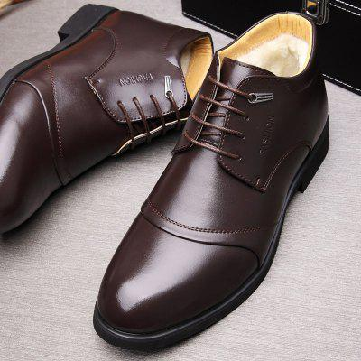 MUHUISEN Men Business Chaud Robe Chaussures