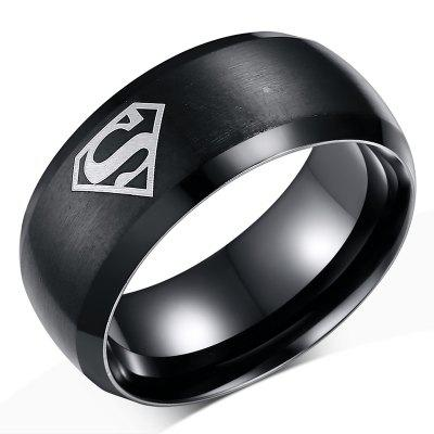 8MM Trendy Comfort Fit Titanium Steel Men Ring