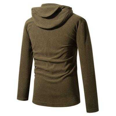 Fashionable Warm Hoodie CoatMens Jackets &amp; Coats<br>Fashionable Warm Hoodie Coat<br><br>Closure Type: Zipper<br>Clothes Type: Waistcoat<br>Collar: Hooded<br>Embellishment: Zippers<br>Materials: Polar Fleece, Polyester<br>Occasion: Going Out<br>Package Content: 1 x Hoodie Coat, 1 x Package<br>Package Dimension: 40.00 x 30.00 x 4.00 cm / 15.75 x 11.81 x 1.57 inches<br>Package weight: 0.5200 kg<br>Pattern Type: Others<br>Product weight: 0.5000 kg<br>Seasons: Autumn,Winter<br>Shirt Length: Regular<br>Sleeve Length: Long Sleeves<br>Style: Fashion<br>Thickness: Medium thickness