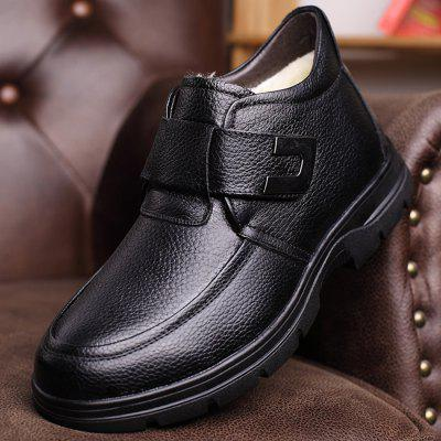 MUHUISEN Men Business Warmest Ankle-top Leather BootsMens Boots<br>MUHUISEN Men Business Warmest Ankle-top Leather Boots<br><br>Brand: MUHUISEN<br>Closure Type: Buckle Strap<br>Contents: 1 x Pair of Shoes, 1 x Box<br>Function: Slip Resistant<br>Lining Material: Plush<br>Materials: Plush, Rubber, Leather<br>Occasion: Tea Party, Shopping, Party, Outdoor Clothing, Office, Holiday, Formal, Dress, Daily, Casual<br>Outsole Material: Rubber<br>Package Size ( L x W x H ): 32.00 x 16.00 x 12.00 cm / 12.6 x 6.3 x 4.72 inches<br>Package Weights: 1.20kg<br>Pattern Type: Solid<br>Seasons: Autumn,Winter<br>Style: Leisure, Business, Comfortable, Fashion, Casual, Formal, Modern<br>Toe Shape: Round Toe<br>Type: Boots<br>Upper Material: Leather