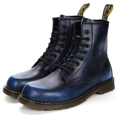 Female Vintage British High-top Casual Martin Boots