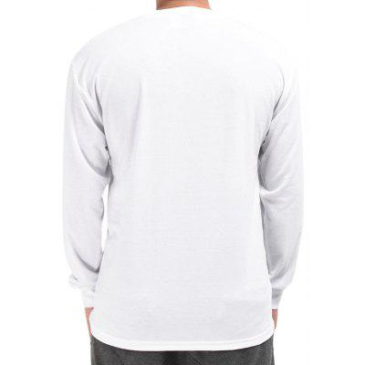 Mr.1991INC Miss.GO Geometric Printing T-shirt for MenMens Long Sleeves Tees<br>Mr.1991INC Miss.GO Geometric Printing T-shirt for Men<br><br>Brand: Mr.1991INC&amp;Miss.Go<br>Material: Polyester, Spandex<br>Neckline: Round Collar<br>Package Content: 1 x T-shirt<br>Package size: 38.00 x 30.00 x 2.00 cm / 14.96 x 11.81 x 0.79 inches<br>Package weight: 0.2700 kg<br>Product weight: 0.2500 kg<br>Season: Autumn<br>Sleeve Length: Long Sleeves