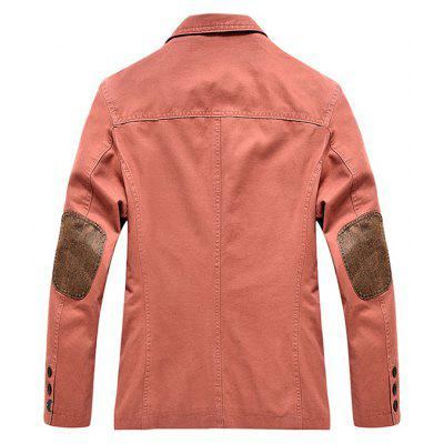 NIAN JEEP Classic Turn Down Collar JacketMens Jackets &amp; Coats<br>NIAN JEEP Classic Turn Down Collar Jacket<br><br>Brand: NIANJEEP<br>Closure Type: Single Breasted<br>Clothes Type: Jackets<br>Collar: Turn-down Collar<br>Embellishment: Others<br>Materials: Spandex, Cotton<br>Occasion: Daily Use<br>Package Content: 1 x Jacket<br>Package Dimension: 35.00 x 25.00 x 2.00 cm / 13.78 x 9.84 x 0.79 inches<br>Package weight: 1.0200 kg<br>Pattern Type: Solid<br>Product weight: 1.0000 kg<br>Seasons: Autumn<br>Shirt Length: Regular<br>Sleeve Length: Long Sleeves<br>Style: Classic<br>Thickness: Medium thickness
