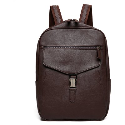Men Stylish PU Laptop Backpack