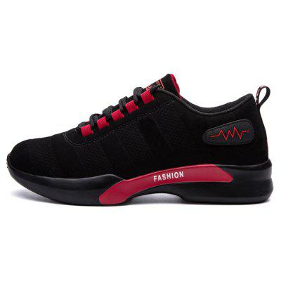 Male Versatile Soft Hiking Casual Athletic ShoesAthletic Shoes<br>Male Versatile Soft Hiking Casual Athletic Shoes<br><br>Closure Type: Lace-Up<br>Contents: 1 x Pair of Shoes, 1 x Box<br>Function: Slip Resistant<br>Lining Material: Cotton Fabric<br>Materials: PU, Rubber, Cotton<br>Occasion: Tea Party, Sports, Shopping, Riding, Casual, Daily, Running, Holiday, Outdoor Clothing, Party<br>Outsole Material: Rubber<br>Package Size ( L x W x H ): 31.00 x 22.00 x 11.00 cm / 12.2 x 8.66 x 4.33 inches<br>Package Weights: 0.68kg<br>Seasons: Autumn,Spring<br>Style: Modern, Leisure, Fashion, Comfortable, Casual<br>Toe Shape: Round Toe<br>Type: Sports Shoes<br>Upper Material: PU