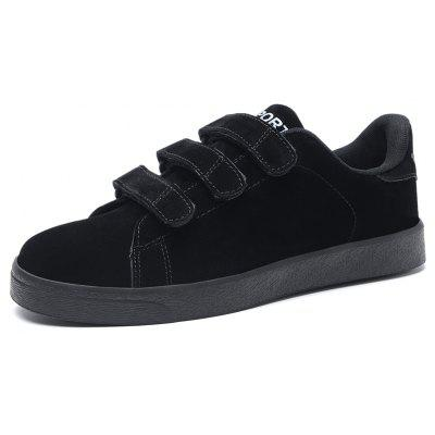 Male Breathable Soft Magical-tape Casual Leather ShoesCasual Shoes<br>Male Breathable Soft Magical-tape Casual Leather Shoes<br><br>Closure Type: Buckle Strap<br>Contents: 1 x Pair of Shoes, 1 x Box<br>Function: Slip Resistant<br>Materials: Rubber, Leather<br>Occasion: Tea Party, Shopping, Office, Holiday, Daily, Casual, Party<br>Outsole Material: Rubber<br>Package Size ( L x W x H ): 31.00 x 20.00 x 13.00 cm / 12.2 x 7.87 x 5.12 inches<br>Package Weights: 0.80kg<br>Pattern Type: Solid<br>Seasons: Autumn,Spring<br>Style: Modern, Leisure, Fashion, Comfortable, Casual<br>Toe Shape: Round Toe<br>Type: Casual Leather Shoes<br>Upper Material: Leather