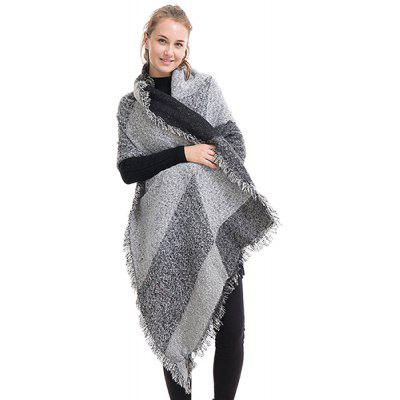 Thicken Keep Warm Women Double-purpose Shawl ScarfWomens Scarves<br>Thicken Keep Warm Women Double-purpose Shawl Scarf<br><br>Material: Cashmere<br>Package Content: 1 x Scarf<br>Package Dimension: 35.00 x 25.00 x 2.00 cm / 13.78 x 9.84 x 0.79 inches<br>Package weight: 0.4200 kg<br>Product weight: 0.4000 kg<br>Season: Fall, Spring, Winter<br>Style: Casual