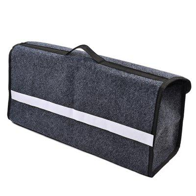 Folding Car Trunk Tool Storage Box with Velcro Hoop Loop