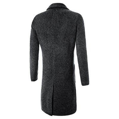 Casual Stylish Slim Fit Long Wool CoatMens Jackets &amp; Coats<br>Casual Stylish Slim Fit Long Wool Coat<br><br>Closure Type: Single Breasted<br>Clothes Type: Long Coat<br>Collar: Turn-down Collar<br>Embellishment: Others<br>Materials: Cotton, Nylon<br>Occasion: Daily Use<br>Package Content: 1 x Wool Coat<br>Package Dimension: 60.00 x 50.00 x 4.00 cm / 23.62 x 19.69 x 1.57 inches<br>Package weight: 1.2000 kg<br>Pattern Type: Others<br>Product weight: 1.0000 kg<br>Seasons: Winter<br>Shirt Length: Long<br>Sleeve Length: Long Sleeves<br>Style: Classic<br>Thickness: Thickening