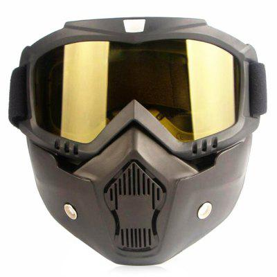 CTSmart Winter Unisex Removable Motorcycle Mask