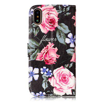 Shatter-proof Flower Pattern Stand Case for iPhone XiPhone Cases/Covers<br>Shatter-proof Flower Pattern Stand Case for iPhone X<br><br>Compatible for Apple: iPhone X<br>Features: Anti-knock, Case with Kickstand, Dirt-resistant, FullBody Cases, Shatter-Resistant Case<br>Material: PU Leather<br>Package Contents: 1 x Case<br>Package size (L x W x H): 16.00 x 8.50 x 2.50 cm / 6.3 x 3.35 x 0.98 inches<br>Package weight: 0.0800 kg<br>Product size (L x W x H): 15.00 x 7.50 x 1.50 cm / 5.91 x 2.95 x 0.59 inches<br>Product weight: 0.0600 kg<br>Style: Colorful