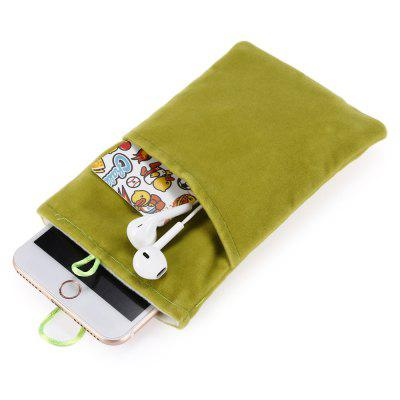 Double Layers Corduroy Cloth Storage Protection Bag