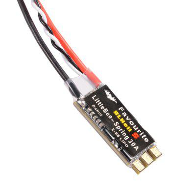 Furibee BLHeli 30A 2 - 6S LiPo ESC for RC DroneESC<br>Furibee BLHeli 30A 2 - 6S LiPo ESC for RC Drone<br><br>Brand: FuriBee<br>Burst Current: 35A<br>Continuous Current: 30A<br>Firmware: BLHeli-S<br>Input Voltage: 2 - 6S<br>Package Contents: 1 x ESC<br>Package size (L x W x H): 5.00 x 5.00 x 3.00 cm / 1.97 x 1.97 x 1.18 inches<br>Package weight: 0.0120 kg<br>Product size (L x W x H): 3.50 x 1.70 x 0.50 cm / 1.38 x 0.67 x 0.2 inches<br>Product weight: 0.0080 kg<br>Type: ESC