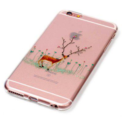 Dirt-resistant Elk + Tree Branch Pattern Cover for iPhone 6S / 6iPhone Cases/Covers<br>Dirt-resistant Elk + Tree Branch Pattern Cover for iPhone 6S / 6<br><br>Compatible for Apple: iPhone 6, iPhone 6S<br>Features: Anti-knock, Back Cover, Dirt-resistant, Shatter-Resistant Case<br>Material: TPU<br>Package Contents: 1 x Case<br>Package size (L x W x H): 16.00 x 9.00 x 1.10 cm / 6.3 x 3.54 x 0.43 inches<br>Package weight: 0.0400 kg<br>Product size (L x W x H): 14.00 x 7.00 x 1.00 cm / 5.51 x 2.76 x 0.39 inches<br>Product weight: 0.0200 kg<br>Style: Ultra Slim