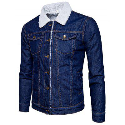 Fashion Denim Winter Jacket