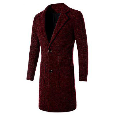 Casual Stylish Slim Fit Long Wool Coat