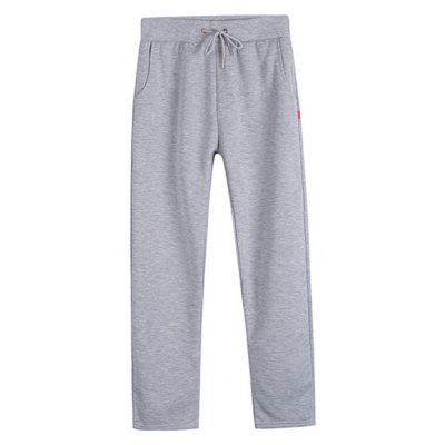 Masculino Casual Straight Sports Pants