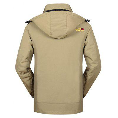 NIAN JEEP Outdoor Punch Jacket with Fleece CoatSports Clothing<br>NIAN JEEP Outdoor Punch Jacket with Fleece Coat<br><br>Activity: Outdoor Lifestyle<br>Brand: NIAN JEEP<br>Features: Windproof, Wear Resistant, Keep Warm, Breathable<br>Gender: Men<br>Material: Polyester Fiber, Nylon<br>Package Content: 1 x Outdoor Jacket, 1 x Fleece Coat<br>Package size: 35.00 x 25.00 x 2.00 cm / 13.78 x 9.84 x 0.79 inches<br>Package weight: 1.6200 kg<br>Product weight: 1.6000 kg<br>Season: Winter