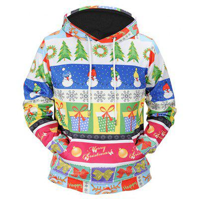 Mr.1991INC Miss.Go Presentes de Natal Motif Hoodie