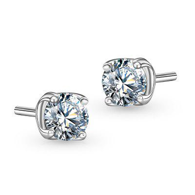 T400 8238 Sweet 925 Sterling Silver Women Stud Earrings