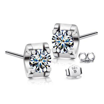 T400 8888 Sweet 925 Sterling Silver Women Stud Earrings