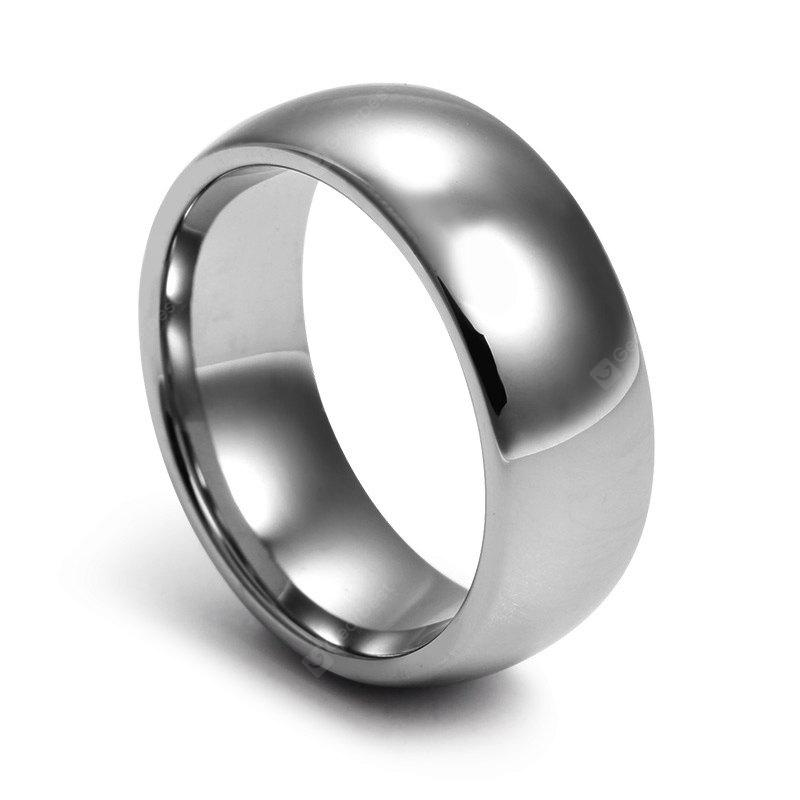 8MM Stylish Tungsten Steel Men Ring