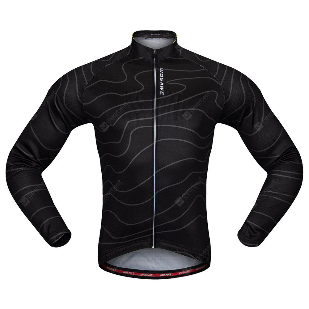 WOSAWE BC234 Cycling Jacket Elastic Breathable Jersey Tops