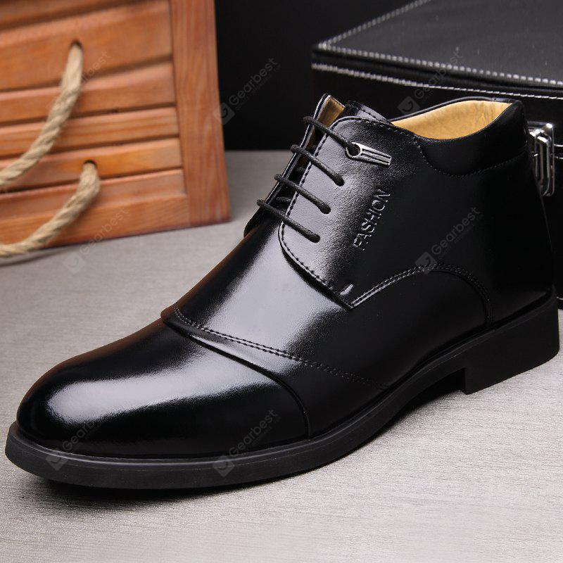 MUHUISEN Men Business Warmest Dress Shoes