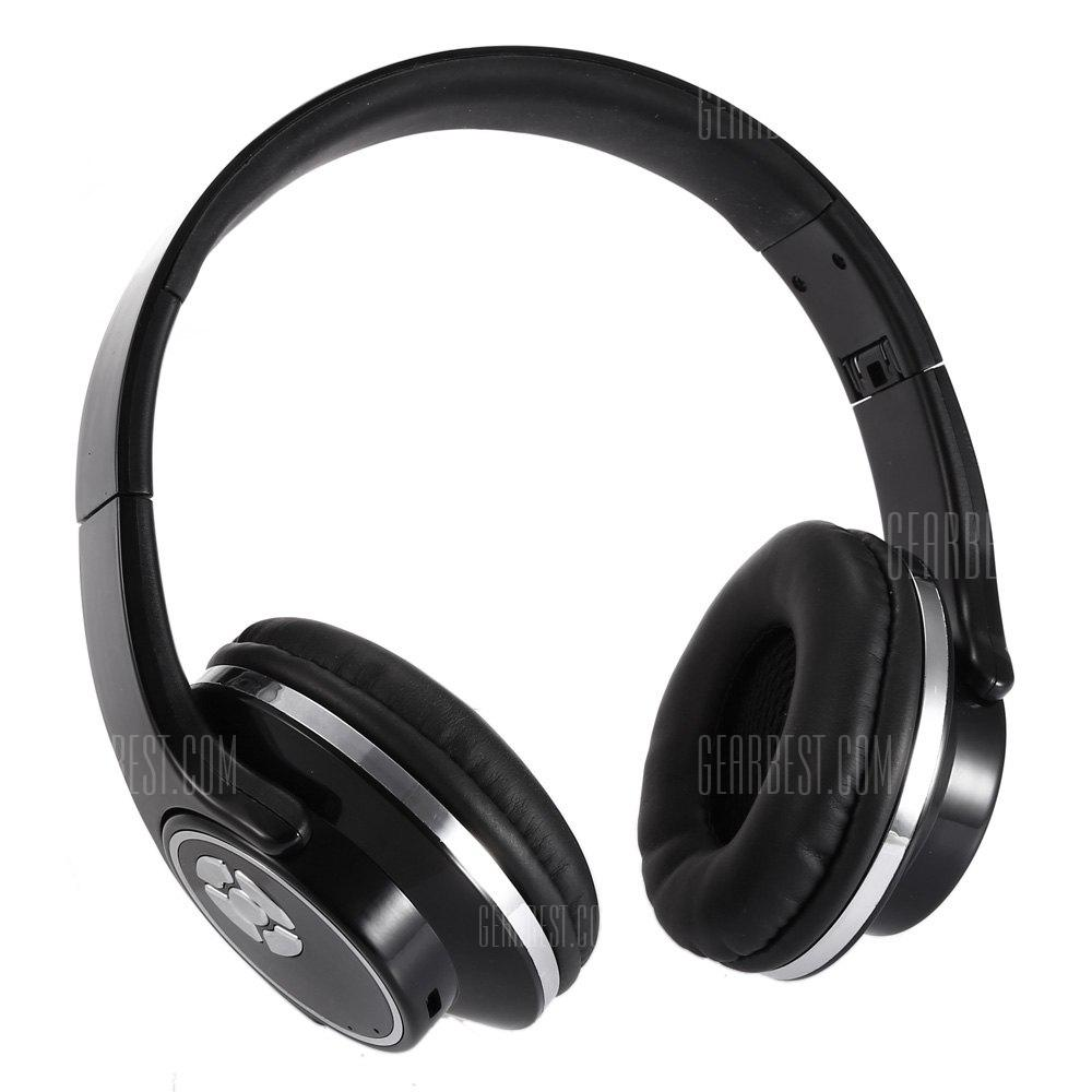 V - 666 Foldable Wireless Stereo Bluetooth Sports Headset