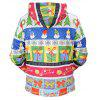 Mr.1991INC Miss.Go Christmas Gifts Motif Hoodie - COLORMIX