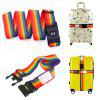 00154 Elastic Durable Luggage Packing Belt - COLORMIX