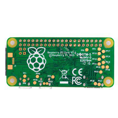 RaspberryPi Zero V1.3 Expansion Board with Shell - GREEN